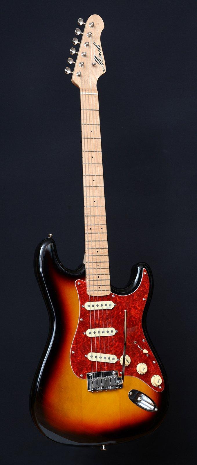 Sunburst Guitar *solgt*