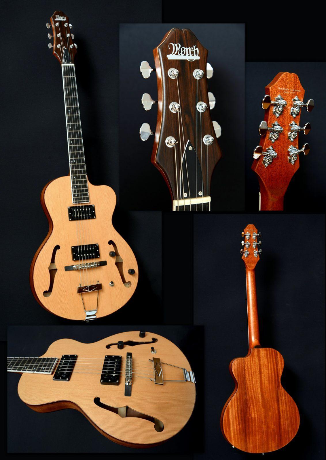 Nyhed: Akkustisk/Elektrisk Folk Guitar